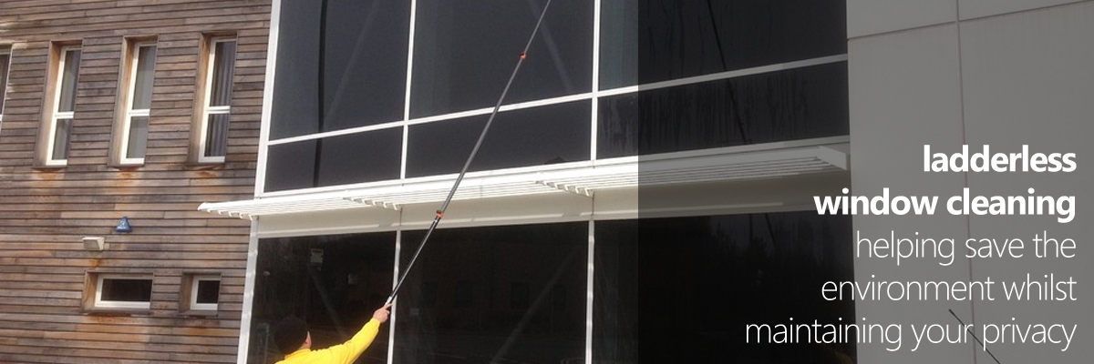 Ladderless Window Cleaning | Acorn Environmental